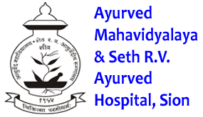 Ayurved Mahavidyalaya & Seth R. V. Ayurved Hospital, Sion